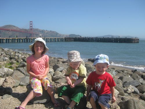 Golden Gate & kids